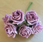 50mm Artificial Foam Roses VINTAGE DUSKY PINK  Wedding  Flowers Colourfast*