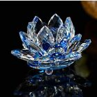 Party Decoration Table Decor Paperweight Crafts Flower Glass Crystal Lotus