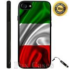 Red White Green Italian Italy Flag Case iPhone 6S 7 Plus Samsung Galaxy S7 S8
