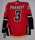 PHANEUF Rbk EDGE 10 Calgary Flames HOME Red 7187 Jersey