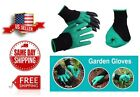 Garden Genie Gloves with Claws Digging & Planting Durable Waterproof Gardening