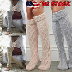 lace knitting - US Women Crochet Knitted stocking Leg Warmers Boot Cover Lace Trim Legging Socks
