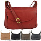 NEW Ladies LEATHER Cross Body BAG by GiGi OTHELLO Collection Stylish Classic