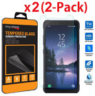 2-PACK Real Tempered Glass Screen Protector for Samsung Galaxy S6 S7 S8 S5Active