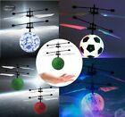 RC Infrared Induction Helicopter Aircraft Flying Ball Helikopte mit LED Kid ToBN