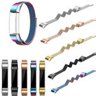 RAINBOW STEEL New Small-Large Wristband Band Strap Bracelet For FITBIT ALTA & HR