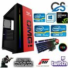 ULTRA FAST i3 i5 i7 Desktop Gaming Computer PC 2TB 16GB RAM GTX 1060 Windows 10 <br/> 1 YEAR WARRANTY ✔ KEYBOARD &amp; MOUSE ✔ WIFI✔ WINDOWS 10 ✔
