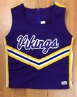 Cheerleading Uniform Top Minnesota Vikings Youth & Adult Sizes Halloween Costume $12.99 USD on eBay