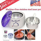 Hair Removal Hot Wax Warmer Heater Machine + Inner Pot Depilatory Hard Wax Bean