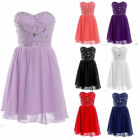 Short Homecoming Formal Bridesmaid Dress Evening Cocktail Wedding Prom Ball Gown