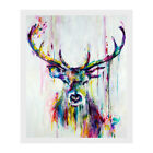 Watercolor Deer Art Canvas Print Wall Painting Picture Unframed Mural Home Decor