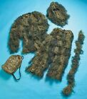 5-Pc Woodland Ghillie Suit Camo Camouflage Cover Hunting Medium/Large Adult Suit