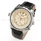 Mechanical Jaragar Analogue Leather Wrist Watch Autometic Luxury Month Day Date image