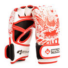 MMA Gloves Adults Half Finger Boxing Muay Thai Fighting Taekwondo Martial Arts