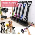 Pet Dog Cat Long Handle Pooper Scooper Jaw Poop Scoop Pick Up Clean Waste Shovel