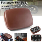 Rear Passenger Pillion Seat Pad Rectangle 6/8 Suction Cups For Harley Motorcycle
