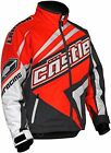 Castle X Men's 2XL Launch SE G2 Orange/White Insulated Snowmobile Jacket 70-9059