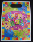 Happy Birthday Streamers party bags napkins invites cups plates blow outs hats