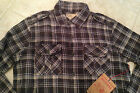True Religion Shirt Long Sleeve Plaid Flannel Brown Men's NEW
