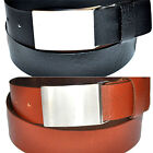 Colours and Length Selection 4CM WIDE FULL LEATHER BELT BELT BUCKLE