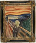 Munch The Scream 1910 Framed Canvas Print Repro 16x20