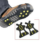 Anti-Skid Ice Climbing Non-Slip Snow Shoe Studs Spike Grip Cleat Cover Crampon