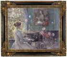 Hassam Improvisation 1899 Framed Canvas Print Repro 16x20