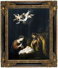 Murillo The Nativity 1665 Framed Canvas Print Repro 16x20