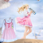 Your Lie in April Miyazono Kaori Pink Dress White Shirt Anime Cosplay Costume