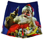 Coca-Cola Christmans Boxer Shorts Santa Claus Coke Xmas Men Underwear Blue NWT $12.99  on eBay