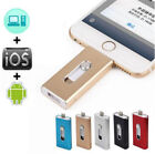 USA 128GB 3 in1 USB Memory Stick i Flash Drive U Disk for Android/IOS Iphone PC