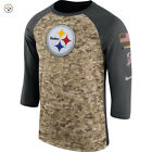 Nike 2017 NFL Salute to Service Pittsburgh Steelers T-Shirt Army Limited Edition