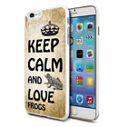 Love Frogs Design Hard Back Case Cover Skin For Various Phones