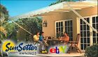 8x9 ft.  SunSetter Manual Retractable Awning 900XT Model - Outdoor Deck & Patio