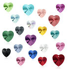 (Choose Colors & Size) Swarovski Pendant Heart 6228 Wholesale Crystal Rhinestone