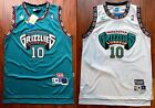 Mike Bibby 10 Vancouver Grizzlies Throwback Swingman Jersey Green White