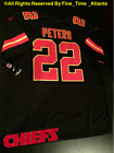 NEW Marcus Peters Kansas City Chiefs Mens BlackOut Color Rush Jersey Kelce Berry