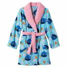 Girls Disney Finding Dory Nemo Holiday Fluffy Bath Robe