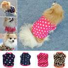 Pet Dog Warm Clothes Coat Apparel Jumper Sweater Puppy Cat Costume Shirt Lovely