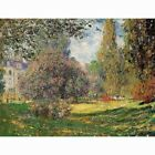 HD Canvas Painted Oil Painting Wall decorThe Park by Claude Monet Giclee 3 sizes