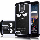 Angry Don't Touch My Phone Case Hybrid Cover For LG Stylo 3 Plus / Stylus 3 Plus