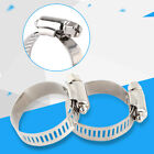 10pcs Screw Band Worm Drive Hose Clamps 304 Stainless Steel Tube Pipe Clips AF