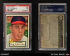 1952 Topps #68 Cliff Chambers -  Cardinals PSA 7 - NM