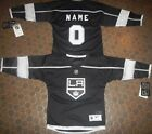 Los Angeles Kings Kids Size 4/7  NHL Hockey Jersey add  any name & number
