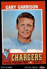 1971 Topps #172 Gary Garrison Chargers VG/EX $1.0 USD