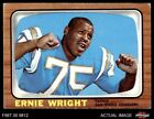 1966 Topps #131 Ernie Wright Chargers VG/EX $11.0 USD on eBay