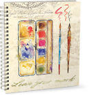 Punch Studio Craft Art Drawing Lg Spiral Wire-Bound Sketchbook - Choose Design