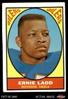 1967 Topps #58 Ernie Ladd Oilers VG $16.0 USD