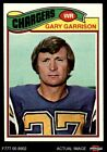 #475 Gary Garrison Chargers NM $2.85 USD