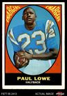 1967 Topps #121 Paul Lowe Chargers VG/EX $4.75 USD